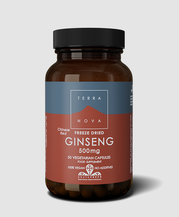 Terranova <br/> Freeze Dried Ginseng – Chinese Red 500mg