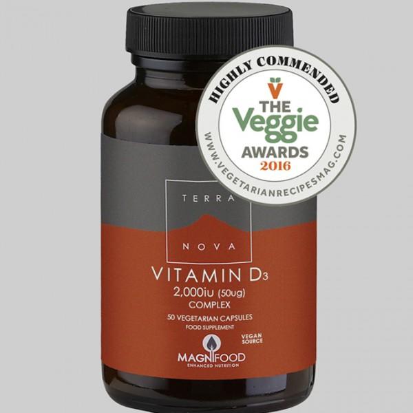 TERRANOVA vitamin D 2000 I.J. (50µg) kompleks